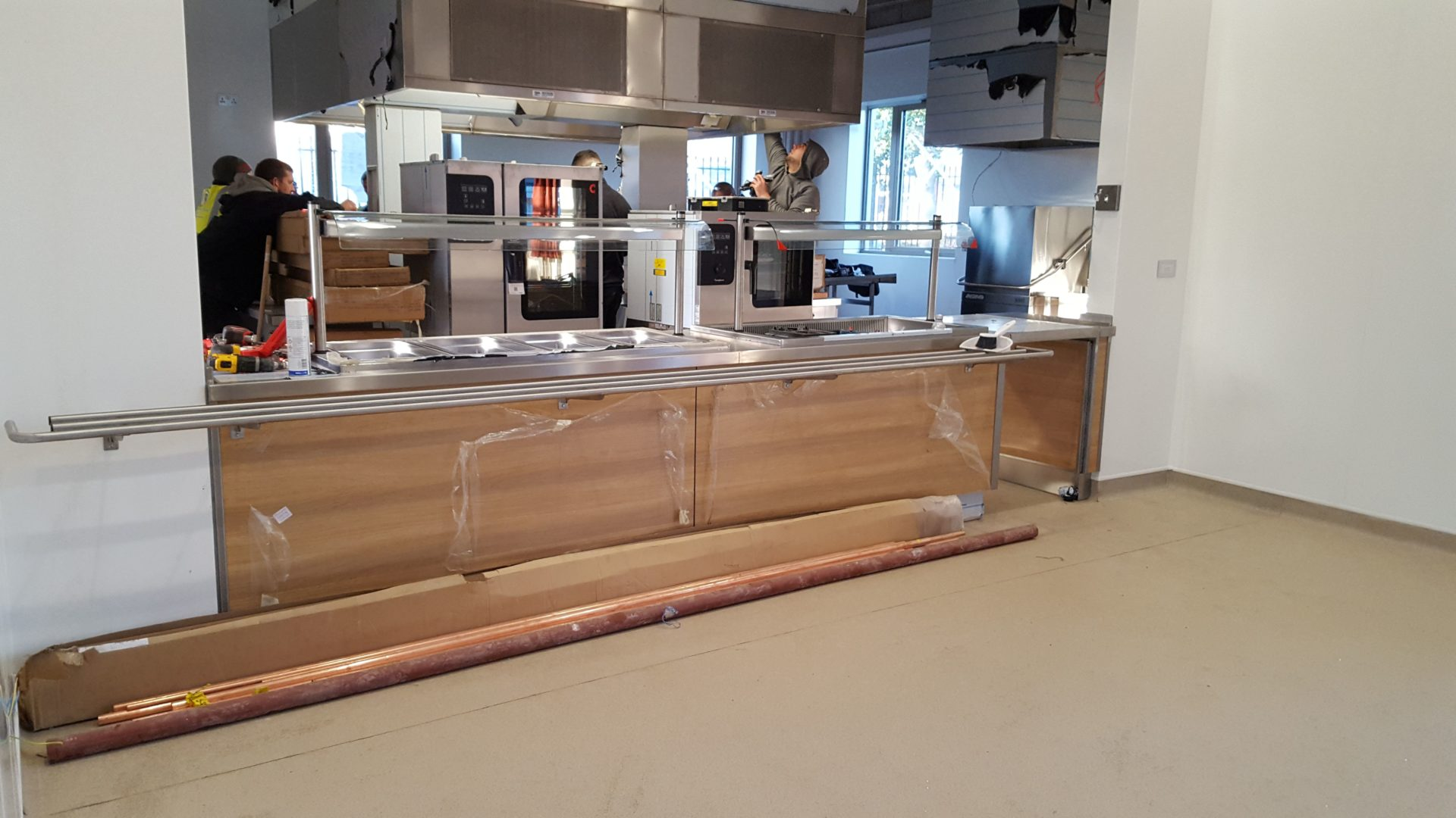Commercial kitchen installations Liverpool